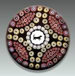 Click here to enlarge image and see more about item S020: Baccarat 1978: Gridel dog paperweight