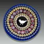 Click here to enlarge image and see more about item S023: Baccarat 1979: Gridel pigeon paperweight