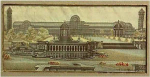 "Click here to enlarge image and see more about item Z152: Stevengraph woven silk: ""The Crystal Palace"""
