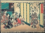 Click here to enlarge image and see more about item Z222: KUNISADA Utagawa (TOYOKUNI III) (1786-1865)