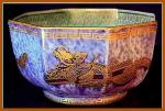 Click here to enlarge image and see more about item Z291: Wedgwood dragon lustreware bowl