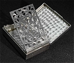 Click here to enlarge image and see more about item Z524: Sterling silver vinaigrette