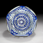 Click here to enlarge image and see more about item ZL346c: Whitefriars: Star of David paperweight (LE)