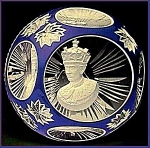 D'Albret Prince Charles sulphide paperweight