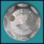 D'Albret: Paul Revere sulphide paperweight