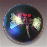 Click to view larger image of Lundberg 1976: Dragonfly paperweight (Image1)