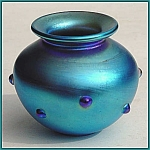 Click here to enlarge image and see more about item ZL716: Early Lundberg Studios vase
