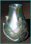 Click here to enlarge image and see more about item ZL717: Early Lundberg Studios vase