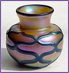 Click here to enlarge image and see more about item ZL723: Early Lundberg Studios vase (Steven Lundberg)