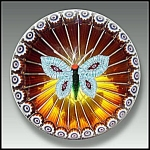 Click to view larger image of William Manson Butterfly paperweight (Image1)