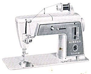 DOWNLOAD / PDF Singer 603 Touch and Sew sewing machine with chain stitch manual (smm105pdf) (Image1)