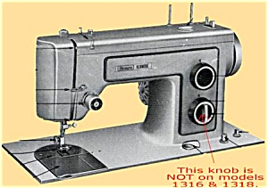 PRINTED Kenmore by Sears 1318 sewing machine manual (smm1230d) (Image1)
