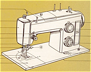 PRINTED Kenmore by Sears 1755 sewing machine manual (smm146) (Image1)