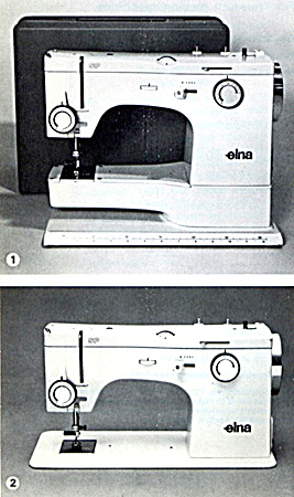 Elna SP, ST and SU sewing machine manual part one (Image1)