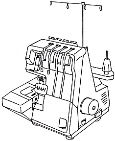 DOWNLOAD / PDF White model 1600 Speedylock sewing machine manual (smm2204apdf) (Image1)