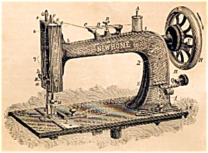 New Home VS treadle sewing machine manual (smm378) (Image1)