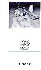PRINTED Singer 6267 sewing machine instruction manual (smm408a) (Image1)