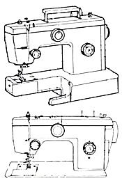 695 sewing machine manual IN SPANISH (Image1)