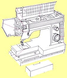 DX 2015 New Home sewing machine manual (Image1)