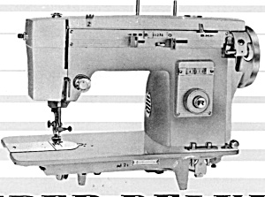 PRINTED Super Deluxe sewing machine manual (smm766) (Image1)