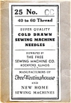 Click here to enlarge image and see more about item 12143: Free brand size CC sewing machine needles (three - 12143)