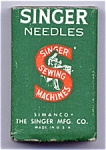Click here to enlarge image and see more about item 12186: Size 16 NOS Singer model 151 and more sewing machine needles (ten - 12186)