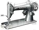 Click here to enlarge image and see more about item smm004: PRINTED Singer 66 - 6 sewing machine instruction manual (smm004)