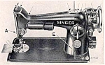 Click here to enlarge image and see more about item smm006pdf: DOWNLOAD / PDF Singer 201-2 sewing machine instruction manual (smm006pdf)