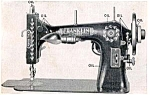 Click here to enlarge image and see more about item smm008: Franklin 23 sewing machine manual