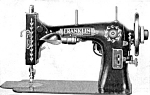 Click here to enlarge image and see more about item smm008pdf: Franklin 23 sewing machine manual