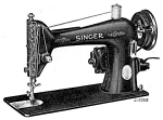 Click here to enlarge image and see more about item smm015: PRINTED Singer 66 - 16 sewing machine instruction manual (smm015)