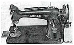 Click here to enlarge image and see more about item smm016: PRINTED Singer 201 - 3 sewing machine manual (smm016)