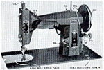 Click here to enlarge image and see more about item smm059: Franklin 117.21 sewing machine manual