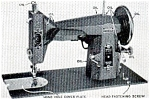 Click here to enlarge image and see more about item smm072: Franklin 117.851 sewing machine manual