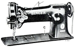 Click here to enlarge image and see more about item smm075pdf: DOWNLOAD / PDF Singer 111-150 sewing machine manual (smm075pdf)