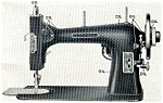 Click here to enlarge image and see more about item smm098: PRINTED Kenmore by Sears Rotary sewing machine manual (smm098)