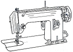 Click here to enlarge image and see more about item smm1037: PRINTED Morse model 600 sewing machine manual (smm1037)