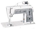 Click here to enlarge image and see more about item smm105: PRINTED Singer 603 Touch and Sew sewing machine with chain stitch manual (smm105)