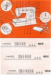 Click here to enlarge image and see more about item smm1068: Singer 9610 sewing machine manual