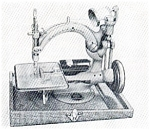 Click here to enlarge image and see more about item smm106: PRINTED Willcox and Gibbs Automatic electric sewing machine manual (smm106)
