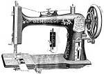 Click here to enlarge image and see more about item smm1088: Demorest sewing machine manual