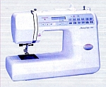 Click here to enlarge image and see more about item smm1089: PRINTED Memory Craft New Home 3000 sewing machine manual (smm1089)