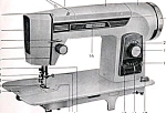 Click here to enlarge image and see more about item smm1094: Empisal Expandamatic sewing machine manual