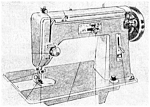 Click here to enlarge image and see more about item smm1116a: Deluxe zig zag sewing machine manual (smm1116a)