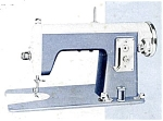 Click here to enlarge image and see more about item smm1130: Edison model deluxe sewing machine manual