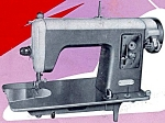 Click here to enlarge image and see more about item smm1131: PRINTED Super Deluxe sewing machine manual (smm1131)