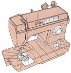 Click here to enlarge image and see more about item smm1149pdf: DOWNLOAD / PDF Singer 1425 sewing machine instruction manual (smm1149pdf)