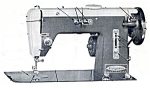 Click here to enlarge image and see more about item smm1156: PRINTED Montgomery Ward  268 sewing machine manual (smm1156)