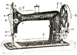 Click here to enlarge image and see more about item smm1168: PRINTED Minnesota by Sears model B sewing machine manual (smm1168)