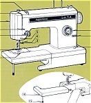 Click here to enlarge image and see more about item smm1178: PRINTED Kenmore by Sears 1069 sewing machine manual (smm1178)